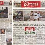 Italian journalist showcases Oman's beauty, tolerance - Times of Oman
