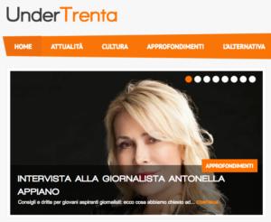 UnderTrenta - intervista ad Antonella Appiano - 14 novembre 2016