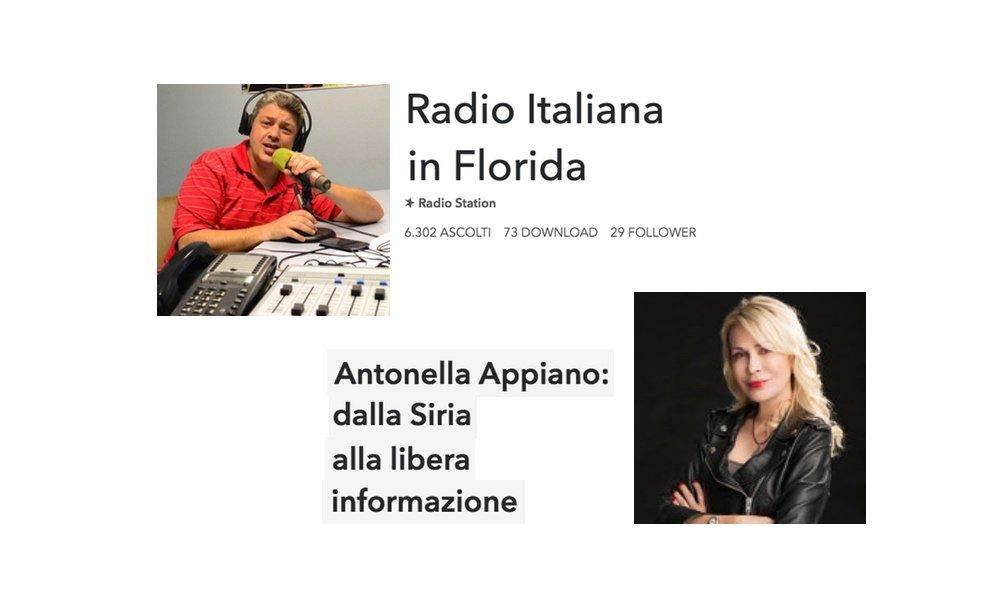 Radio Florida - dalla Siria alla libera informazione - Intevista ad Antonella Appiano