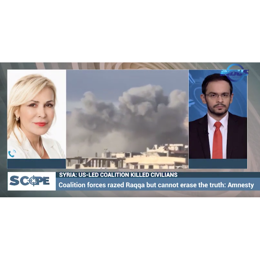 Appiano Antonella - Syria, Scope - Indus News